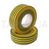 Изолента Scapa 2702 (19мм х 20м), желто-зеленый цвет
