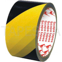 Скотч для разметки Scapa 2724 желто-черный (50мм х 33м)