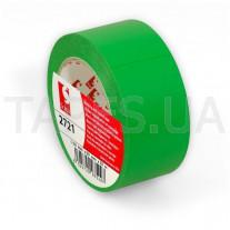 Высококачественная ПВХ лента Scapa 2721 для разметки пола, маркировки, цветного кодирования (50мм х 33м х0,16мм) зеленый цвет