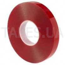 Двусторонний скотч (клейкая лента) Scapa AS11T0 на акриловой основе повышенной прочности, прозрачный, 12мм х 16,5 м х 2 мм, аналог 3М 4918