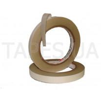 Стеклотканевая лента 3М 69, белая, 12мм х 33м х 0,177мм, 200 С, 3000 В, скотч с термоактивным силиконовым адгезивом