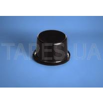 Противоударная самоклеящаяся ножка BS-11 черный цвет, H=10,2мм, D=16,5мм, Bumper Specialties Inc.