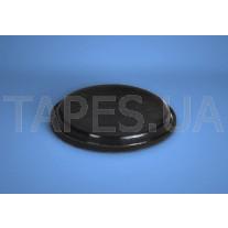 Резиновая ножка для мебели BS-24 черный/белый цвет, H=3мм, D=20,6мм, Bumper Specialties Inc.