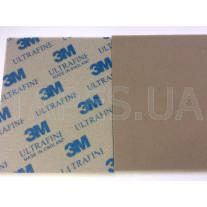 Ультратонкая абразивная губка 3M Softback 02601 Ultrafine, P600, темно-серая