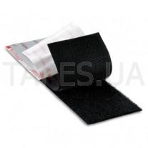 Липучка тканевая 3М 3527 «Петля» ширина 25мм, черный цвет