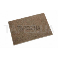 Шлифовальный лист Scotch Brite 3M 07440, коричневый, 158мм х 224мм
