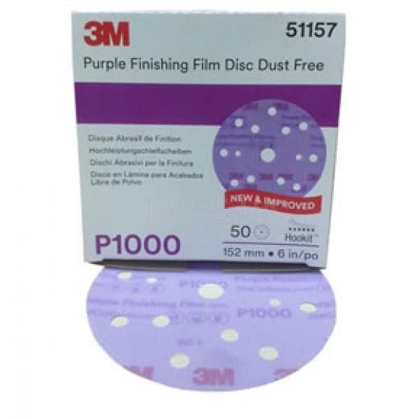 пурпурный сверхтонкий диск 3М Р1000