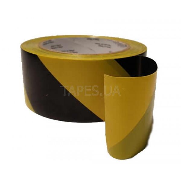 3М 766 черно-желтая лента для разметки
