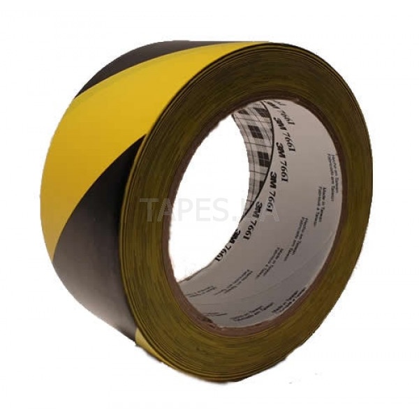 Желто-черная разметочная лента