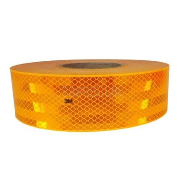 Желтая светоотражающая лента 3М