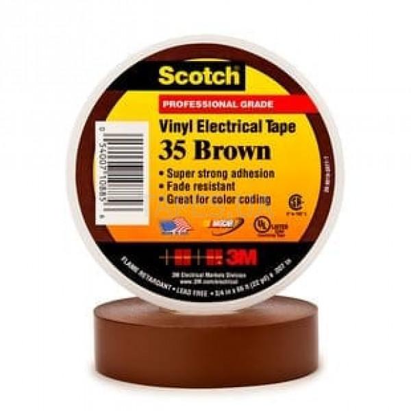 3m scotch vinyl 35 brown