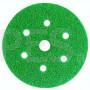 Абразивный диск (круг) 3М 80350/01691 Hookit™, зеленый 245, 601А, Р40, диаметр 150 мм, 7 отверстий