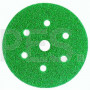 Абразивный диск (круг) 3М 80351/01690 Hookit™, зеленый 245, 601А, Р60, диаметр 150 мм, 7 отверстий