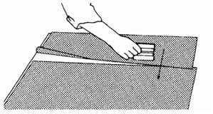 Наклеивание влажным способом полупрозрачных пленок 3М™ после трафаретной печати, термопечати или раскроя 13