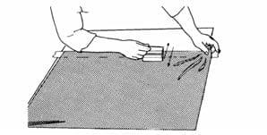 Наклеивание влажным способом полупрозрачных пленок 3М™ после трафаретной печати, термопечати или раскроя 7