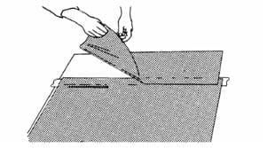 Наклеивание влажным способом полупрозрачных пленок 3М™ после трафаретной печати, термопечати или раскроя 9
