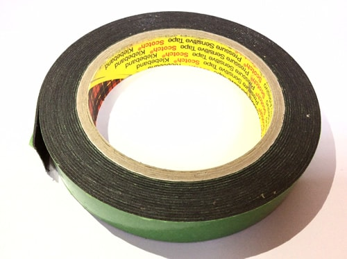 3M 9536 black Double-sided tape